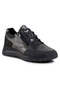 Szare buty sportowe Geox