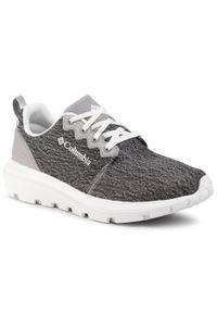Szare buty do biegania columbia na co dzień, z cholewką