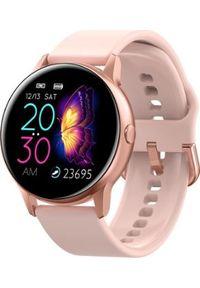 Różowy zegarek Smart And You smartwatch
