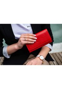 Czerwony portfel PAOLO PERUZZI