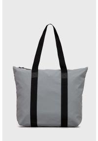 Rains - Torba 1225 Tote Bag Rush. Kolor: szary