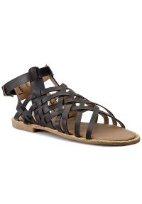 Czarne sandały Via Ravia