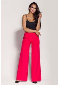 Różowe spodnie z wysokim stanem Dursi #1