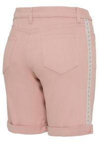 Różowe jeansy bonprix retro, na lato