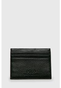 Czarny portfel Polo Ralph Lauren