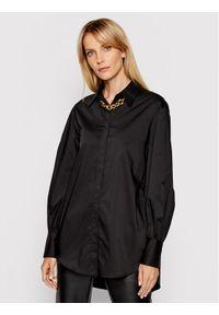 Imperial Koszula CJM0BBE Czarny Regular Fit. Kolor: czarny
