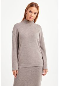 Sweter Max Mara Leisure do pracy, z golfem