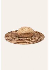 Beżowy kapelusz ANSWEAR