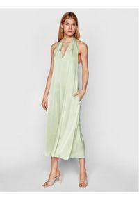 Samsoe & Samsoe - Samsøe Samsøe Sukienka koktajlowa Cille F21100203 Zielony Regular Fit. Kolor: zielony. Styl: wizytowy #4