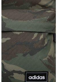 Adidas - adidas - Plecak. Kolor: zielony. Materiał: materiał