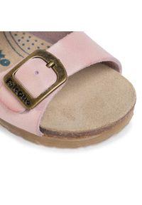 Różowe sandały Naturino