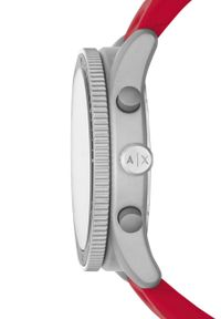 Czerwony zegarek Armani Exchange