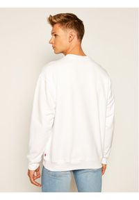 Levi's® Bluza Relaxed T2 Graphic Crew 38712-0000 Biały Relaxed Fit. Kolor: biały