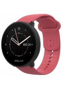 Różowy zegarek POLAR sportowy