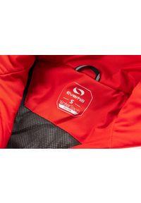 Czerwona kurtka narciarska Everhill na zimę