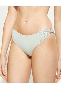 MARYSIA SWIM - Dół od bikini Venice. Kolor: szary. Materiał: tkanina, materiał. Wzór: gładki