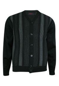 Szary sweter Kings na co dzień, elegancki