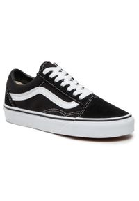 Vans - Tenisówki VANS - Old Skool VN000D3HY28 Black/White. Okazja: na co dzień. Kolor: czarny. Materiał: skóra, materiał. Szerokość cholewki: normalna. Styl: casual. Model: Vans Old Skool