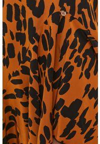 Nissa - NISSA - Sukienka. Materiał: tkanina. Długość rękawa: na ramiączkach. Typ sukienki: asymetryczne, rozkloszowane