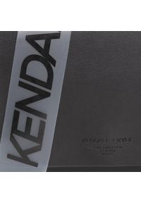 Czarna listonoszka Kendall + Kylie wizytowa, w kolorowe wzory