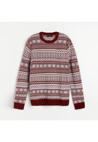 Brązowy sweter Reserved wizytowy