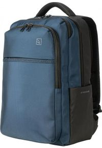 Niebieski plecak na laptopa TUCANO