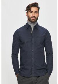 Niebieska koszula Calvin Klein Jeans klasyczna, z klasycznym kołnierzykiem, na co dzień