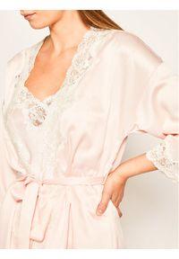 Różowy szlafrok Lauren Ralph Lauren