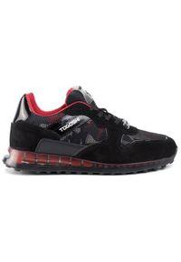 Czarne sneakersy Togoshi