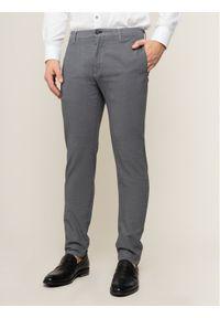 JOOP! Jeans - Joop! Jeans Spodnie materiałowe Scott 30018688 Szary Slim Fit. Kolor: szary. Materiał: materiał, bawełna, elastan