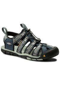 Niebieskie sandały keen na lato, klasyczne