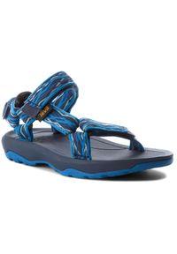 Niebieskie sandały Teva na lato