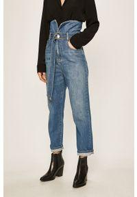 Niebieskie proste jeansy Pinko