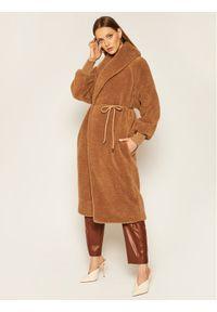Brązowy płaszcz zimowy Max Mara Leisure