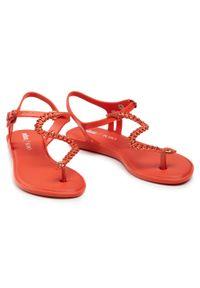 Czerwone sandały melissa