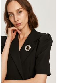 Czarna sukienka Miss Sixty na co dzień, casualowa, dopasowana