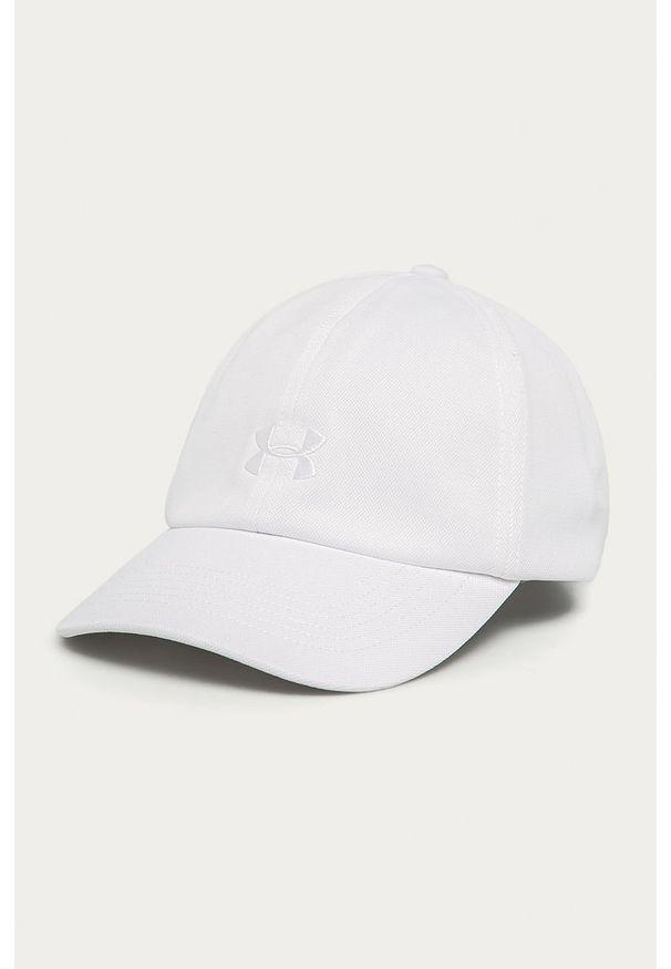 Biała czapka z daszkiem Under Armour