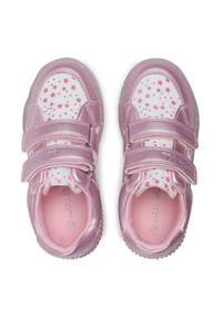 Nelli Blu - Sneakersy NELLI BLU - AVO-297-014 Pink. Okazja: na spacer. Zapięcie: rzepy. Kolor: różowy. Materiał: materiał. Szerokość cholewki: normalna