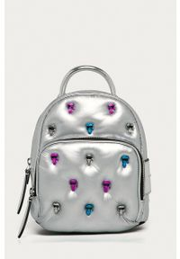 Karl Lagerfeld - Plecak. Kolor: srebrny