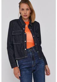 Levi's® - Levi's - Koszula jeansowa. Okazja: na spotkanie biznesowe. Kolor: niebieski. Materiał: jeans. Styl: biznesowy