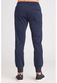 Niebieskie spodnie dresowe Emporio Armani #5
