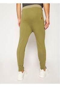 Rage Age Spodnie dresowe Rasell2 Zielony Slim Fit. Kolor: zielony. Materiał: dresówka