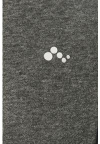 Szara bluza rozpinana Only Play z nadrukiem, bez kaptura