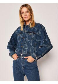 Niebieska kurtka jeansowa Emporio Armani