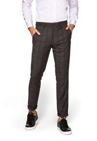 Szare spodnie Lancerto eleganckie
