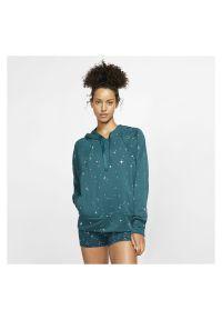 Bluza damska Nike CJ0008. Materiał: materiał. Technologia: Dri-Fit (Nike). Wzór: nadruk