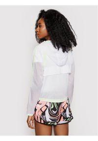 New Balance Bluza techniczna WJ01268 Biały Relaxed Fit. Kolor: biały