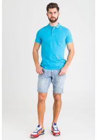 T-shirt JOOP! Jeans polo, z nadrukiem