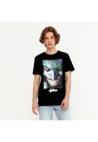 House - Koszulka z nadrukiem Joker - Czarny. Kolor: czarny. Wzór: nadruk