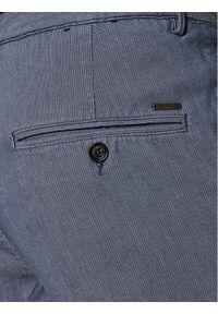 BOSS - Boss Szorty materiałowe Slice 50425514 Niebieski Regular Fit. Kolor: niebieski. Materiał: materiał